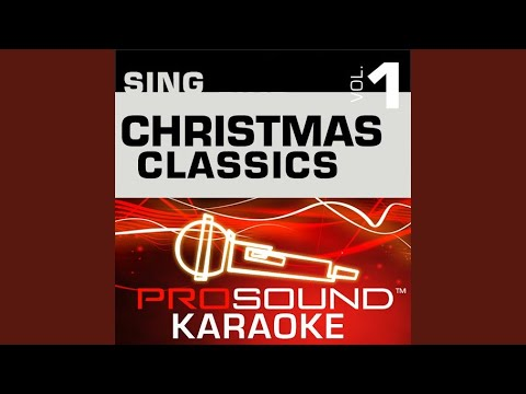 Silver Bells (Karaoke Instrumental Track) (In The Style Of Traditional)
