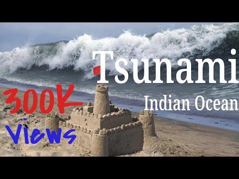 Huge TSUNAMI wave in Indian Ocean, Chennai