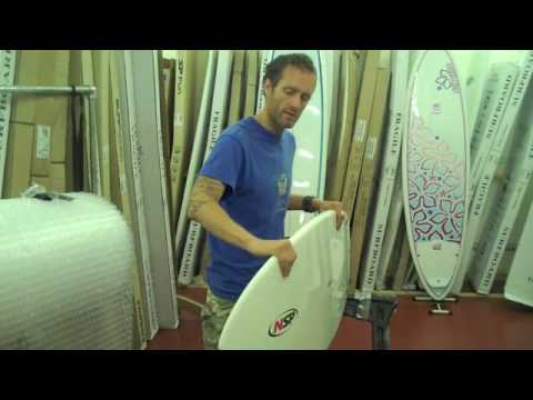 NSP Fish Epoxy Surfboard Review