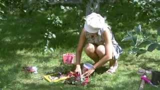 Дизайн цветников. Мини цветник.Часть 10(Цветник -- это особый элемент декора садового участка, это совокупность цветов, собранных вместе на одном..., 2014-05-17T13:08:34.000Z)