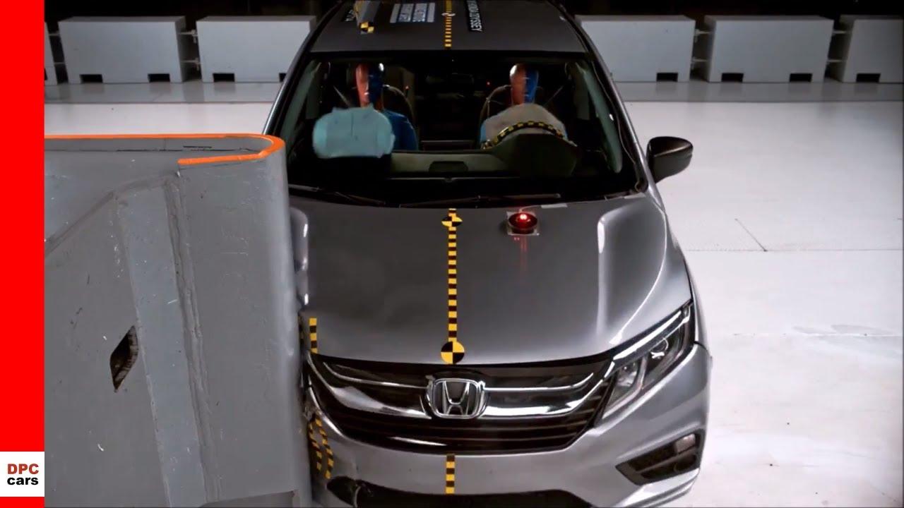 2018 Honda Odyssey Crash Test
