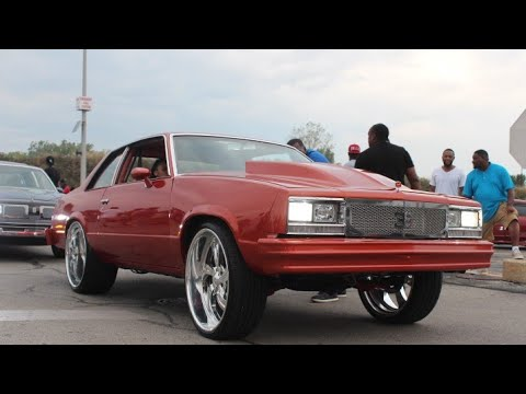 "Veltboy314 - Turbo Malibu On 24"" Billet Wheels (Burnout)🏁🏁 - 2K17 Xtreme Kustoms Car & Bike Fest"
