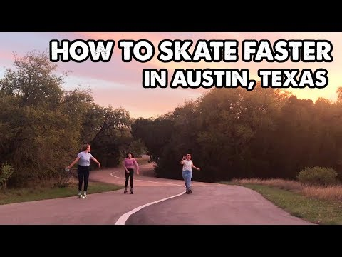 HOW TO SKATE FASTER // THE VELOWAY IN AUSTIN - Planet Roller Skate