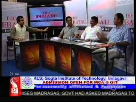 Michael Lobo debates with Agnel Fernandes and Dattaprasad Naik on ODPs