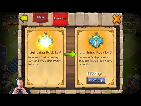 JT's Free 2 Play Evolving FIRST Hero Artifacts + Altar Review Castle Clash