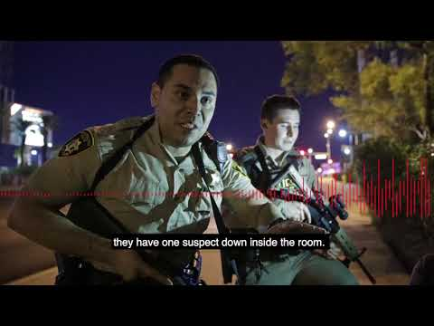 Listen to the Las Vegas Police Dept. as the mass shooting unfolded