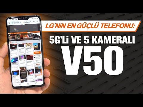 LG'nin en güçlüsü | 5G'li ve 5 kameralı V50'yi kullandık
