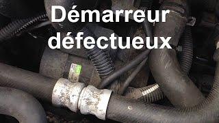 Démarreur défectueux : bruit de disqueuse - Valeo sur Renault Clio 2