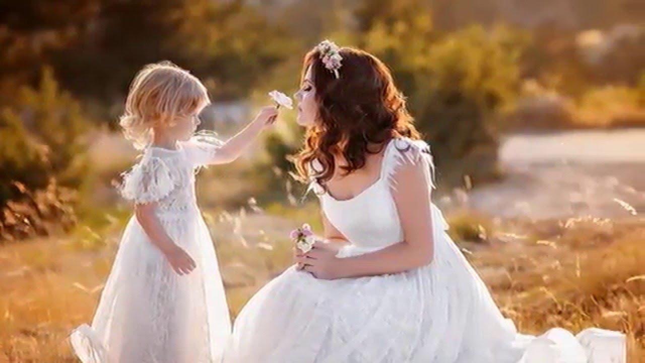 Поздравления от маленькой дочери маме на свадьбу
