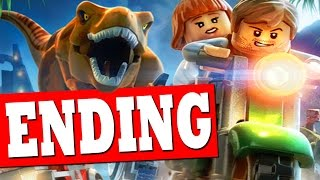 LEGO JURASSIC WORLD Ending Final Boss Fight Boardwalk Showdown Part 1 / Jurassic World Ending