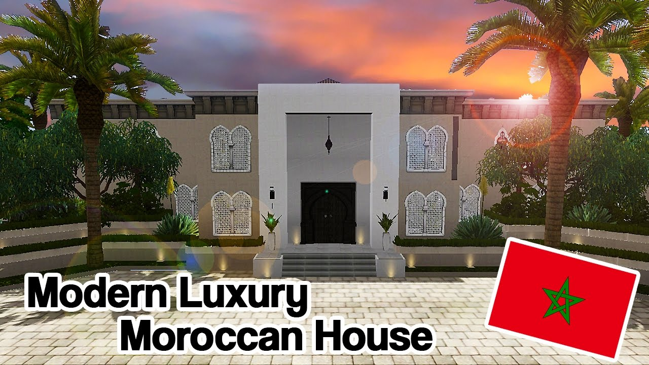 The Sims 3 Modern Luxury Moroccan House - Around The World ...