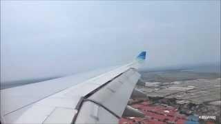 Garuda Indonesia Airbus A330-200 Bumpy Landing in Jakarta, Indonesia
