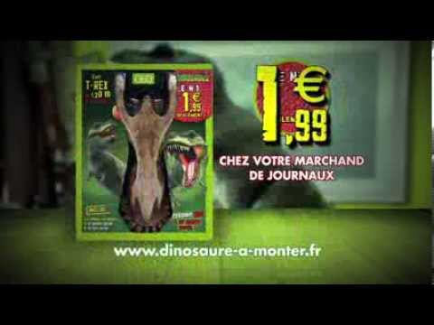 Vidéo Collection Dinosaure (Voix  medium commercial).