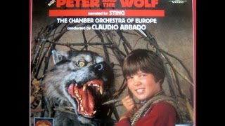 Peter and the wolf without narrator / Pedro y el lobo sin narrador