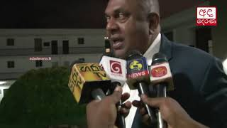 Mangala arrives at Presidential commission of Inquiry to give a statement