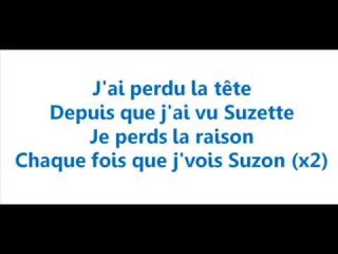 Dany Brillant   Suzette   Paroles