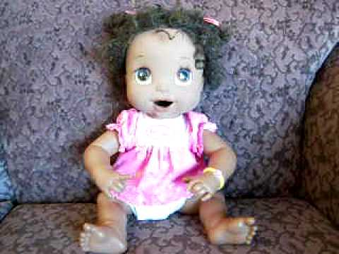 Hasbro African Baby Alive Doll Youtube