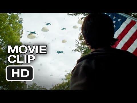 Red Dawn Movie CLIP - Invasion (2012) - Chris Hemsworth, Josh Hutcherson Movie HD