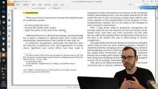 2.3 Let's Write: First Lines and Literature Review Of Research Thesis(Do you like this video? Check out my latest course and get 20% off unlimited learning on Curious!, 2016-03-17T18:12:47.000Z)