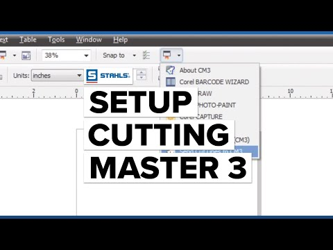 Graphtec CE6000: Cutting Master 3 With CorelDRAW®
