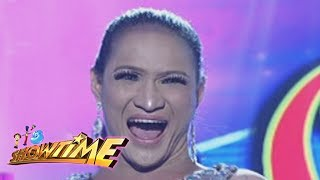 It's Showtime: Princess Khim Santillan's dentures fall