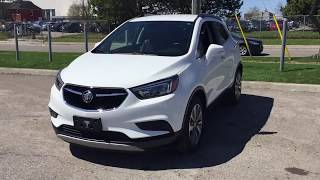 Pre-Owned 2017 Buick Encore FWD White Oshawa ON Stock# B12098