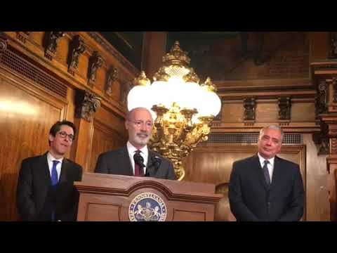 Gov. Tom Wolf discusses possibility of legalizing recreational marijuana use in Pa.