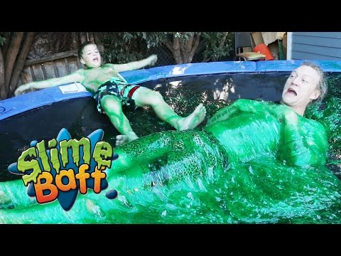 Thumbnail: Slime Trampoline! with Rocco Piazza