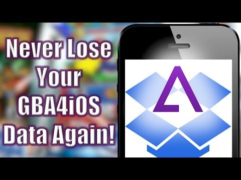 GBA4iOS 2 0: How to connect Dropbox Sync (NO COMPUTER) (NO