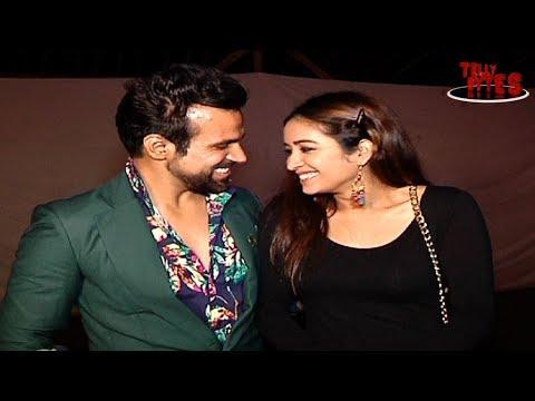 Asha and Rithvik at Pooja Banarjee and Kunal Verma's engagement!!