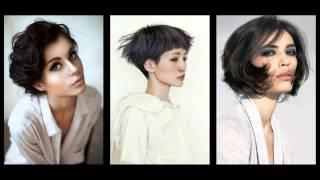 Moderne kratke frizure
