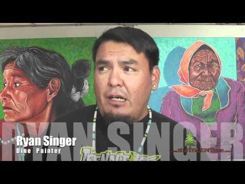 Native American Artist, Ryan Singer
