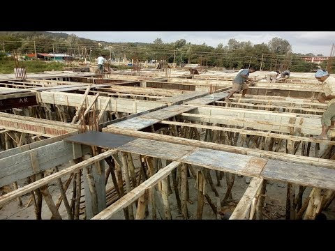 Formwork |Concrete slab and Beam Construction | Shuttering System of slab and Beam