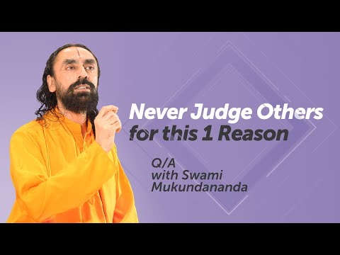 Right or Wrong - Never Judge Someone for this 1 Reason | AskSwamiji - 3 Q/A for Successful Life
