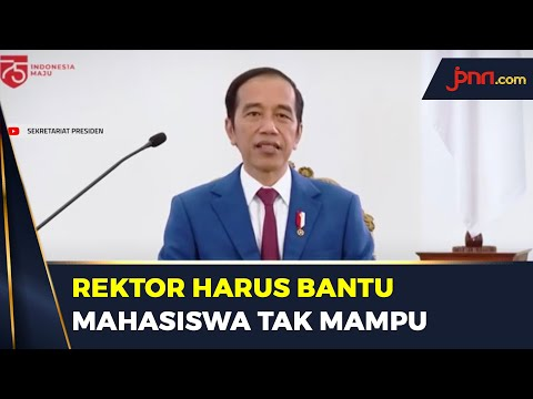 4 Pesan Jokowi Untuk Pendidikan Tinggi Indonesia