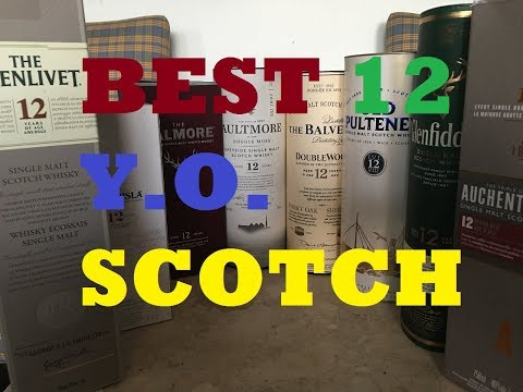 What's the Best 12 Year Old Single Malt Scotch