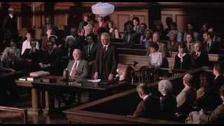 Paul Newman from the Verdict 1982 with Bruce Willis & Tobin Bell as extras