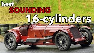 10 Best Sounding 16-Cylinder Engines