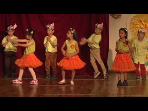 Malay dance performed by Smart Method Kids students