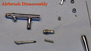 Airbrush Disassembly and Assembly.