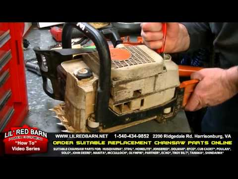 How To Install A Fuel Line On A Stihl Chainsaw