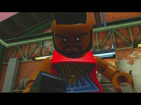 LEGO Dimensions - A-Team Adventure World - All Quests