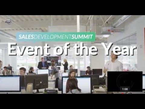 Sales Development Summit 2017 Teaser