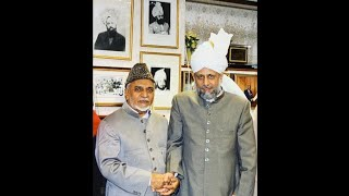 "Chaudhry Hameedullah Sahib   ""My Memories of Hazrat Khalifatul Masih V's Election"""