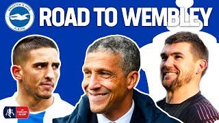 How Brighton Reached their SECOND FA Cup Semi Final!   Brighton's Road To Wembley