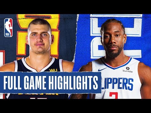 NUGGETS At CLIPPERS   FULL GAME HIGHLIGHTS   February 28, 2020