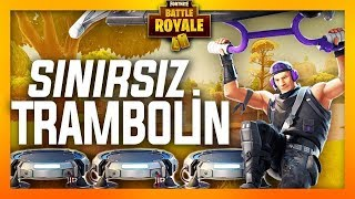 SINIRSIZ TRAMBOLİN - FORTNITE BATTLE ROYALE - EFSANE OYUN