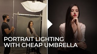 Lighting a Portrait with Cheap Umbrella Modifiers | Master Your Craft