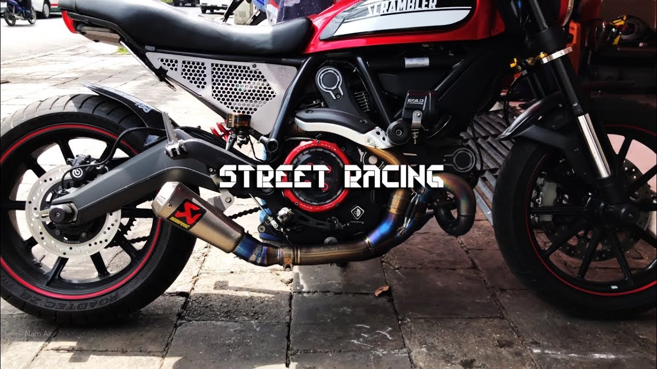 Top Exhaust Sound Ducati Scrambler Youtube