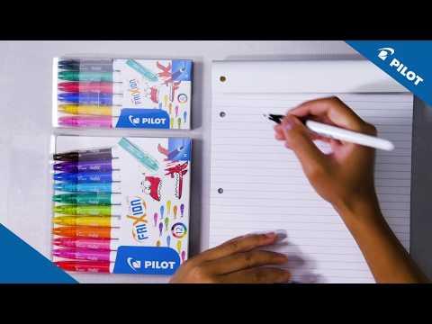 Pilot - FriXion Colors - Writing sample